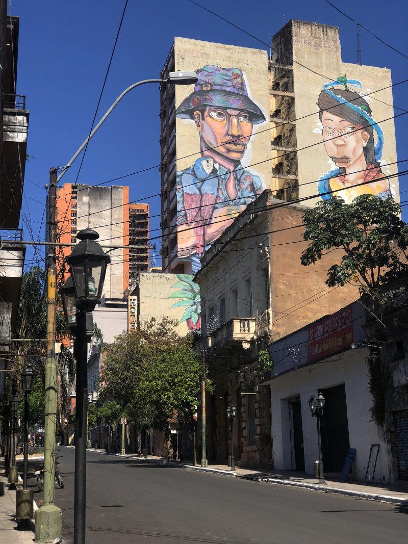 Asunción Paraguay, streetart.