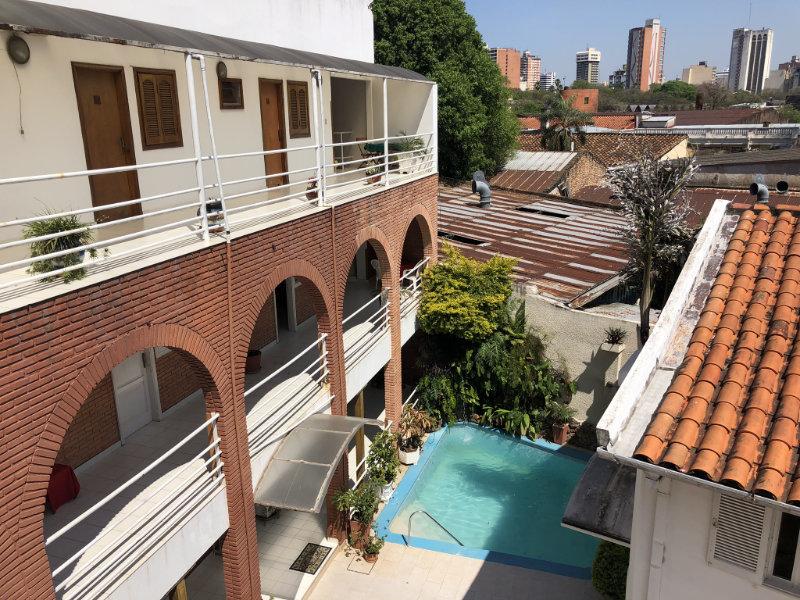 Asunción Paraguay, Hotel Palmas del Sol.